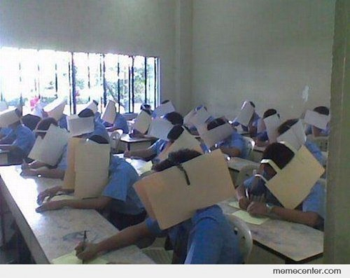 cheating-in-class