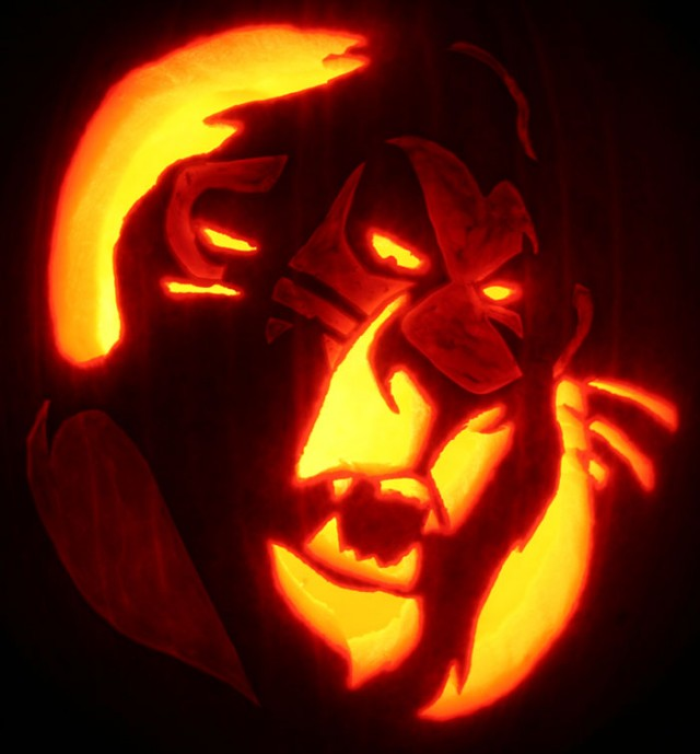 30 Badass Pumpkin Carving Ideas for Halloween (Pics)