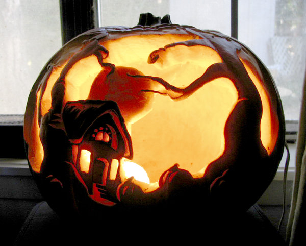 Halloween Pumpkin Carving Inspiration 19 30 Badass Pumpkin Carving Ideas for Halloween (Pics)