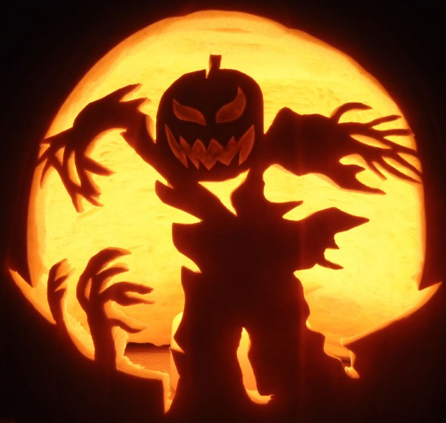 photo source - Pumpkin Halloween Carving