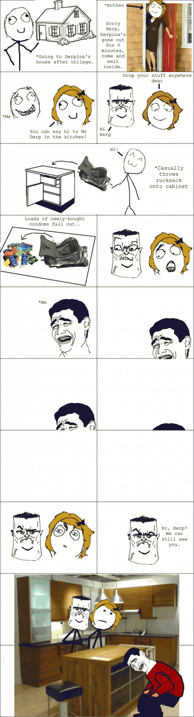 Le Girlfriends House 630x2323 33 Absolutely Hilarious Girlfriend Rage Comics Of All Time