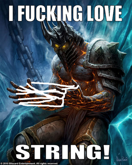 New Meme In Town Introducing The Lich King Power Meme 21 Pics