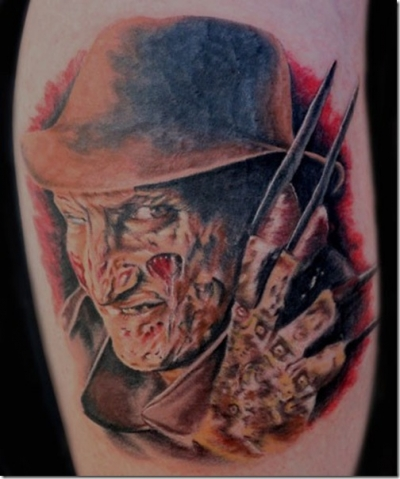 A Nightmare on Elm Street 50 Most Awesome Movie Inspired Tattoos