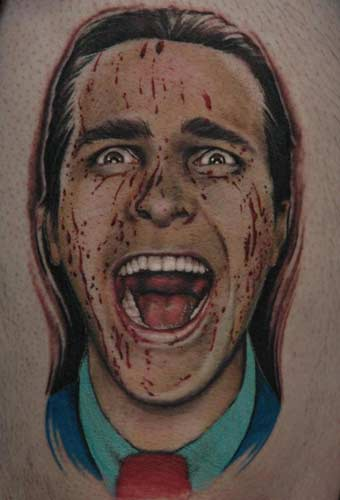 American Psycho 50 Most Awesome Movie Inspired Tattoos