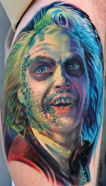 Beetlejuice 50 Most Awesome Movie Inspired Tattoos