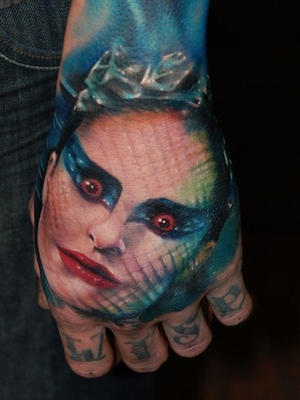 Black Swan 50 Most Awesome Movie Inspired Tattoos
