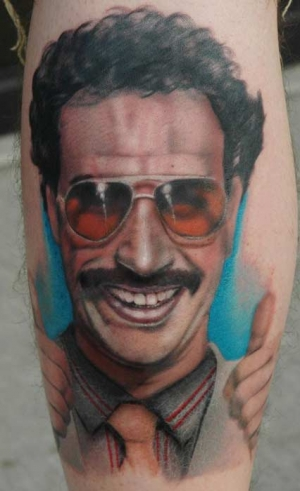 Borat 50 Most Awesome Movie Inspired Tattoos
