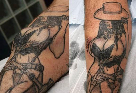Breast Implant on Legs 4 Man Gets Breast Implants for Legs to Complete Tattoo