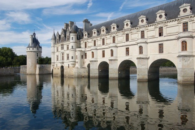 Chenonceau Castle 630x420 20 Amazingly Beautiful Castles from Around the World