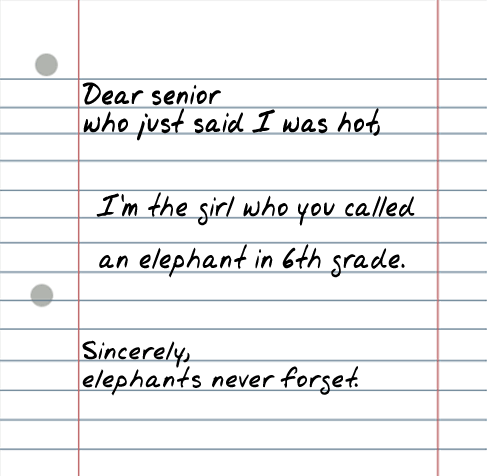 Dear Senior 25 Random Sarcastic Funny Short Letters