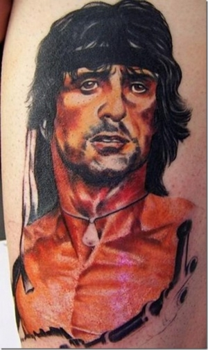 First Blood 50 Most Awesome Movie Inspired Tattoos