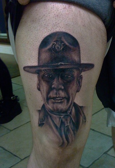 Full Metal Jacket 50 Most Awesome Movie Inspired Tattoos