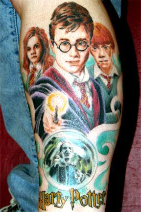 Harry Potter and the Sorcerers Stone 50 Most Awesome Movie Inspired Tattoos