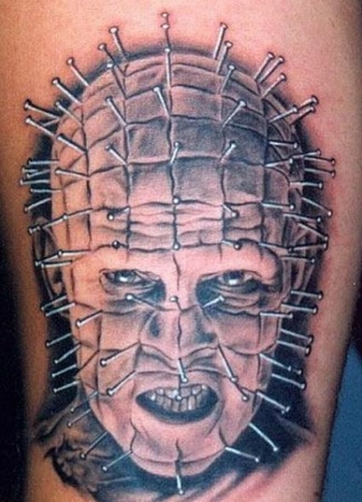 Hellraiser 50 Most Awesome Movie Inspired Tattoos