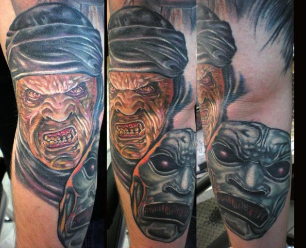 Immortals 630x511 50 Most Awesome Movie Inspired Tattoos
