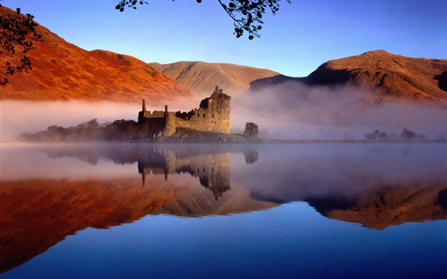 Kilchurn Castle 630x393 20 Amazingly Beautiful Castles from Around the World