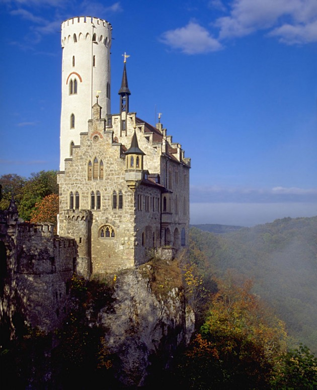 Lichtenstein Castle 630x775 20 Amazingly Beautiful Castles from Around the World