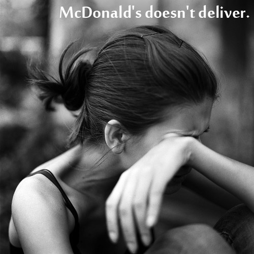 Mcdonals issue 25 Pictures of The Most Comfortably Uncomfortable First World Problems