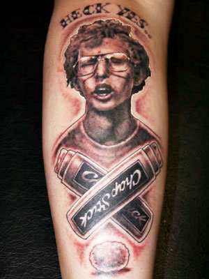 Napoleon Dynamite 50 Most Awesome Movie Inspired Tattoos
