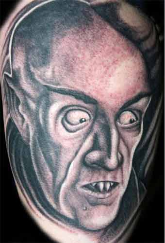Nosferatu 50 Most Awesome Movie Inspired Tattoos