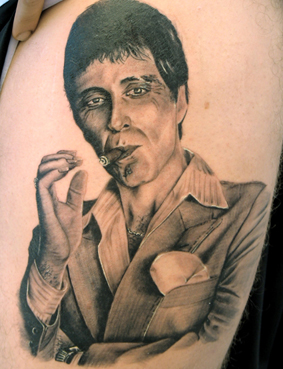 Scarface 50 Most Awesome Movie Inspired Tattoos