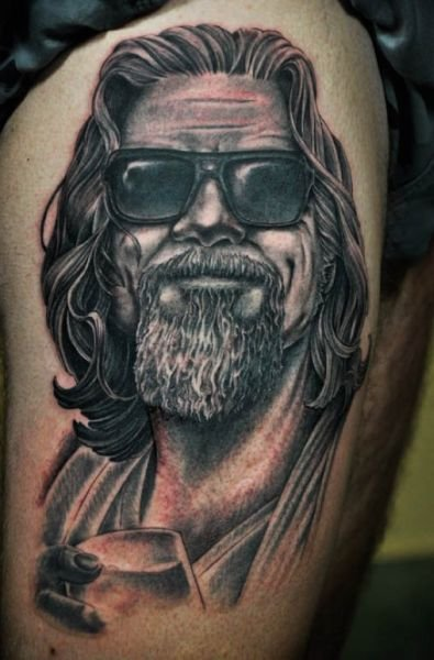 The Big Lebowski 1 50 Most Awesome Movie Inspired Tattoos