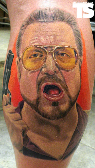 The Big Lebowski 50 Most Awesome Movie Inspired Tattoos