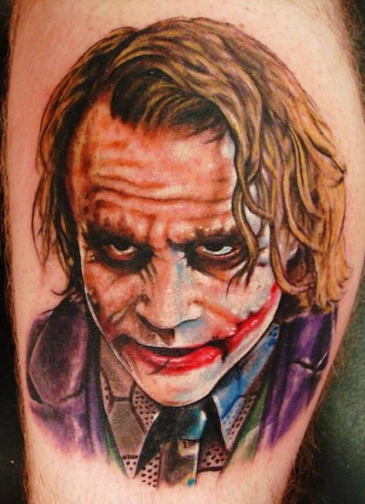 The Dark Knight 50 Most Awesome Movie Inspired Tattoos