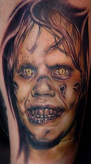 The Exorcist 50 Most Awesome Movie Inspired Tattoos
