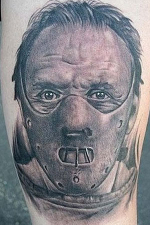 The Silence of the Lambs 1 50 Most Awesome Movie Inspired Tattoos