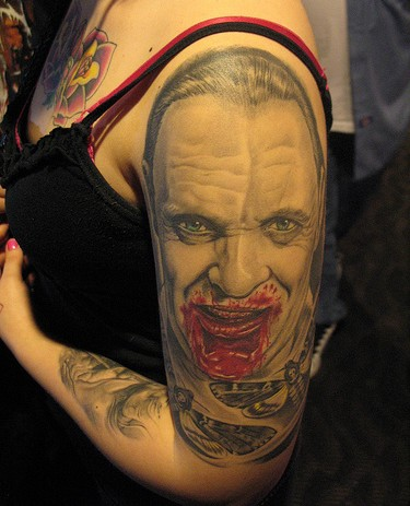 The Silence of the Lambs 50 Most Awesome Movie Inspired Tattoos