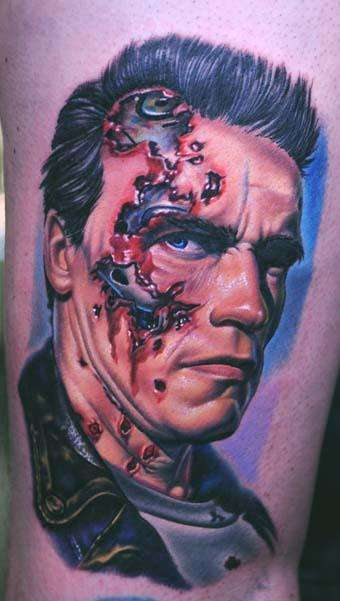 The Terminator 50 Most Awesome Movie Inspired Tattoos