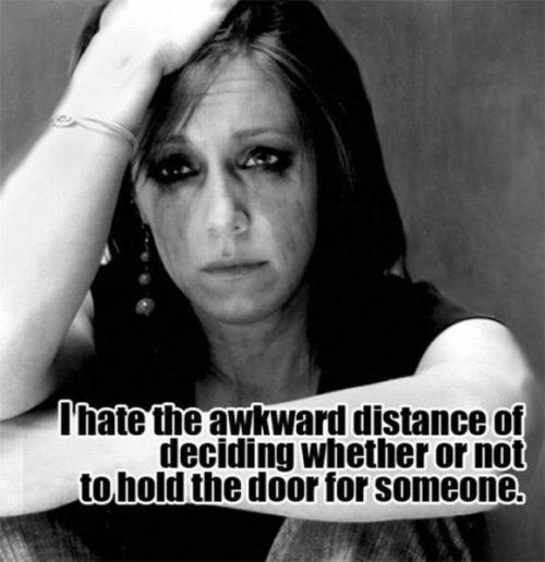awkward door situation