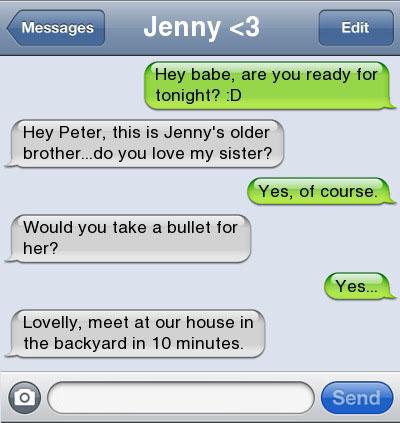 bullet 21 Ultra Hilarious & Awkward Text Conversations Made on iPhone
