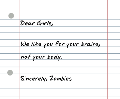 dear girls 25 Random Sarcastic Funny Short Letters