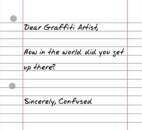 dear graffiti artist 25 Random Sarcastic Funny Short Letters
