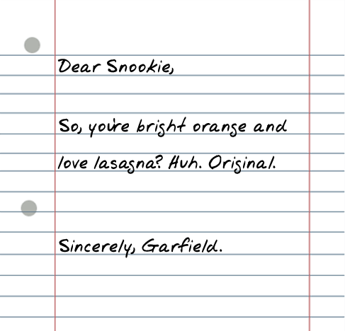 dear snookie 25 Random Sarcastic Funny Short Letters