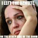 left the remote far away