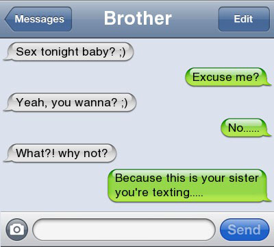 tonight baby 21 Ultra Hilarious & Awkward Text Conversations Made on iPhone