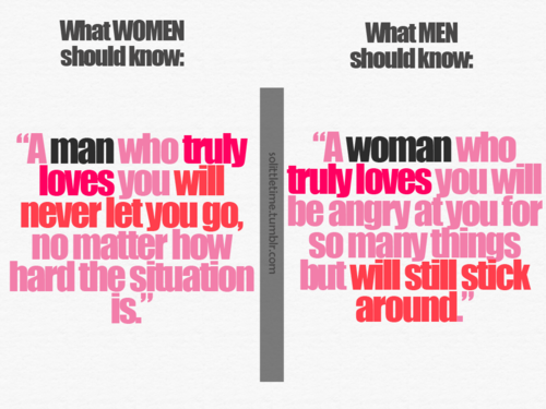 what women and men should know A Little Inspiration Goes a Long Way, Pick Some =)