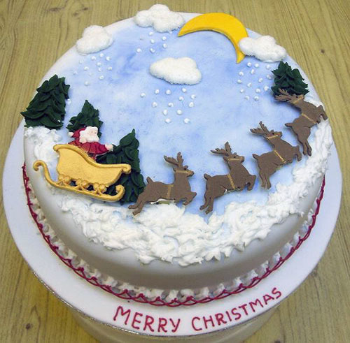 Awesome Christmas Cakes 12