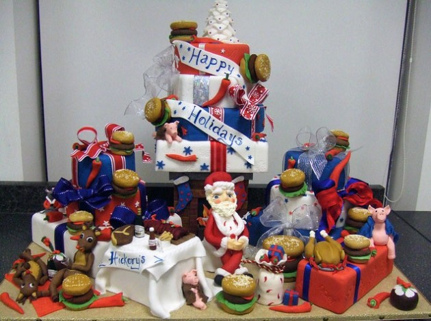 Awesome Christmas Cakes 17