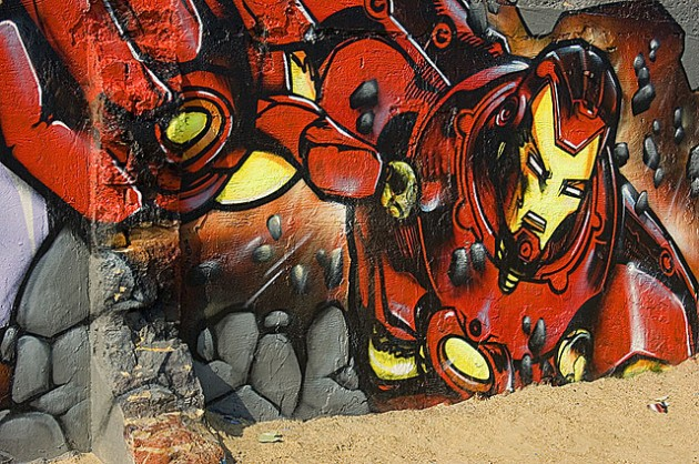 Geeky Graffiti 02 630x418 50 Geeky Street Art Pieces Brimming With Awesomeness
