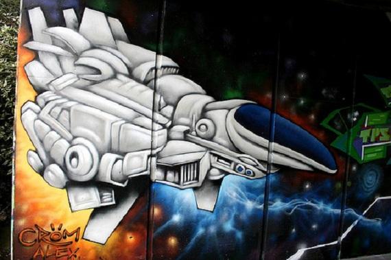 Geeky Graffiti 33