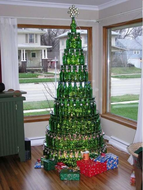 Heineken christmas tree 20 Ideas that Help Get Creative with Your Christmas Tree