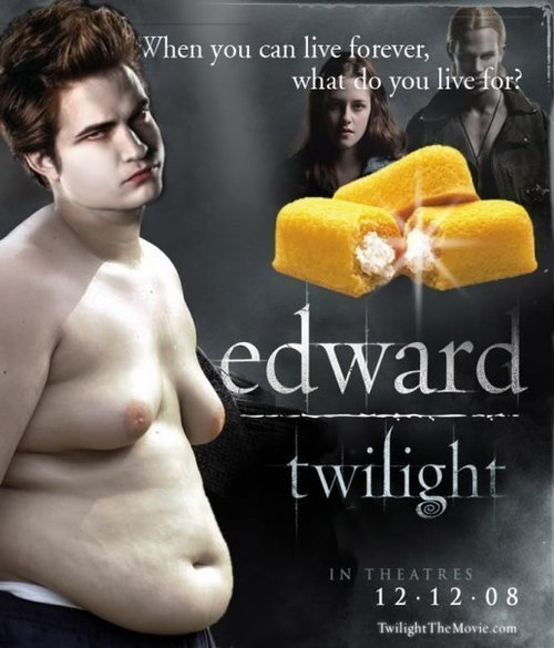 Obviously food A Treat for All Twilight Haters (10 Sarcastic Posters)
