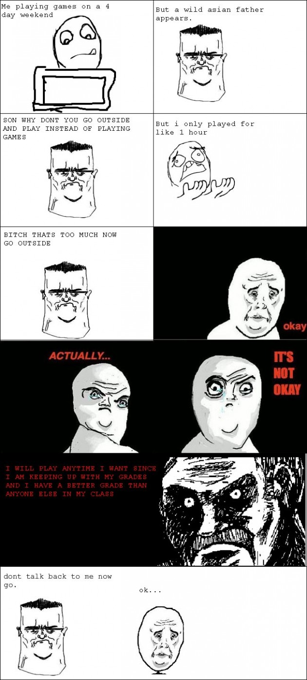 asian parents 630x1394 40 Hilarious Parents Related Rage Comics that Will Make You LOL