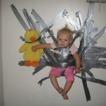 duct tape baby