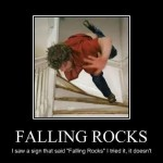 falling rocks