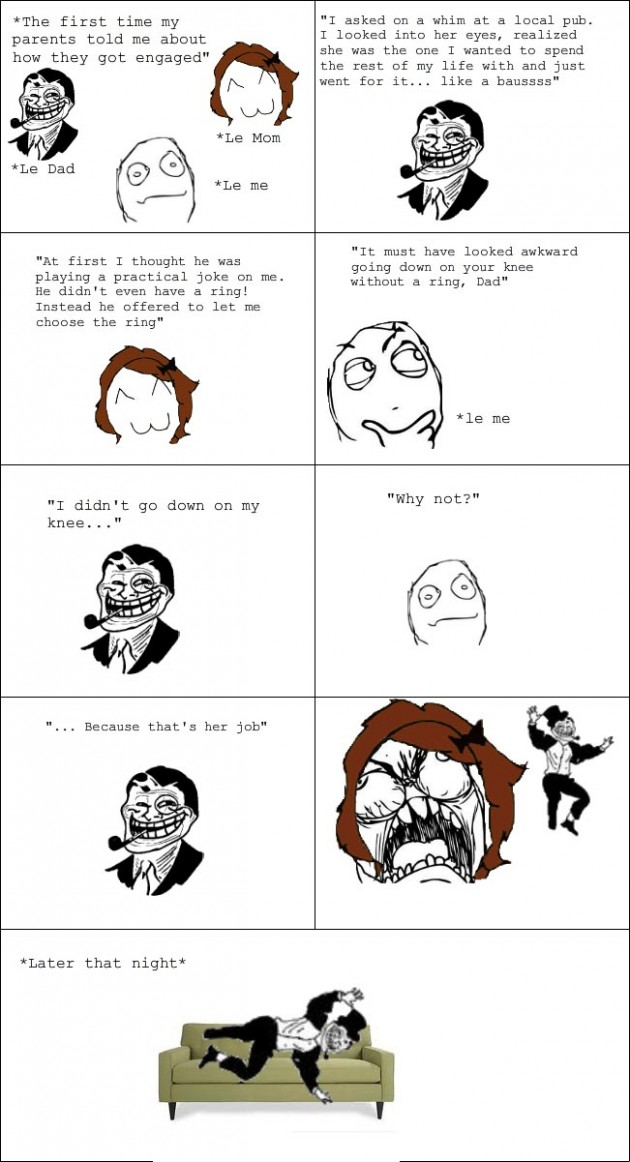 going down on knees 630x1162 40 Hilarious Parents Related Rage Comics that Will Make You LOL